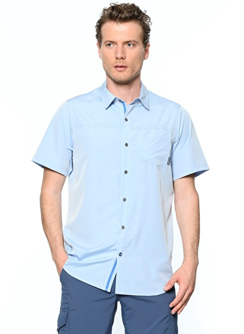 Columbia Kısa Kollu Gömlek Renkli